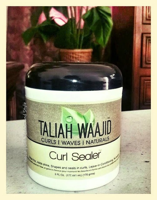 Taliah Waajid Curl Sealer Review